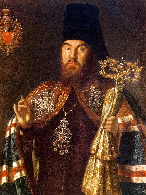Antropov Alexeit Archbishop Sylvester 30х40 см.