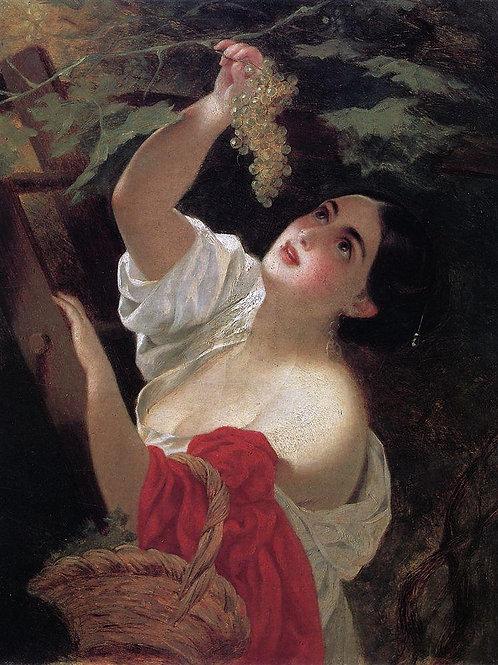 Итальянский полдень. 1831, 30х40 см.