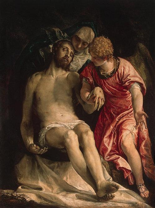 Веронезе, Оплакивание Христа, 30х40 см.