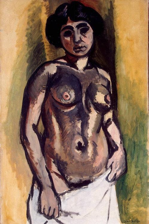 Матисс, Анри - Обнаженная женщина. Чер,  30х40 см.