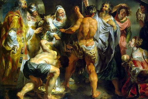 Йорданс, Апостолы Павел и Варнава в Лис, 30х40 см.