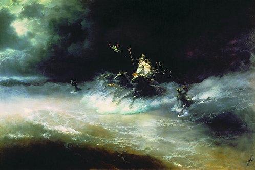 Путешествие Посейдона по морю. 1894