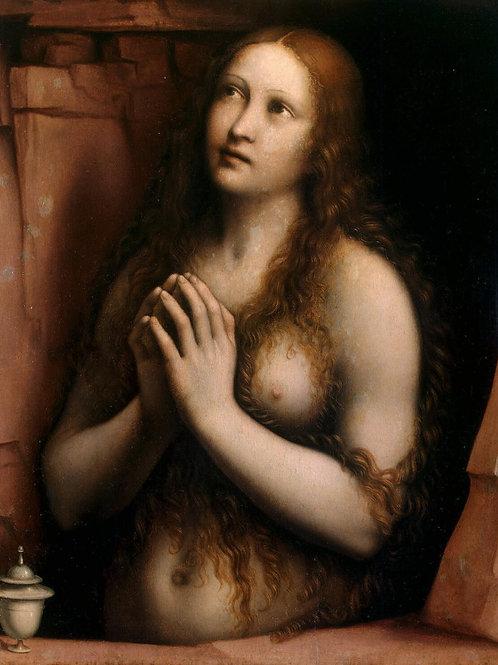 Джампетрино - Кающаяся Мария Магдалина, 30х40 см.