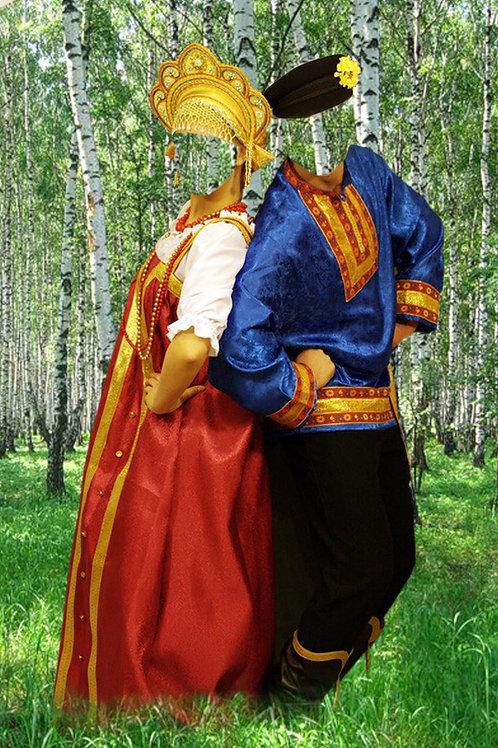 Художествееная обработка в костюм, № 136
