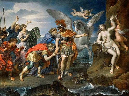 Миньяр,  Персей и Андромеда 30х40 см.