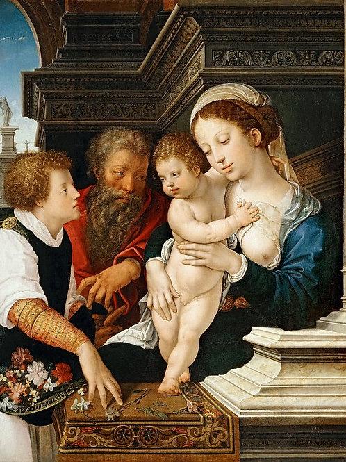 Орлей, Бернарт ван (Брюссель ок1488-1541,30х40 см.