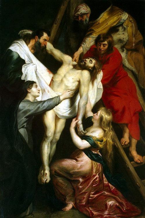 Рубенс, Питер Пауль - Снятие с креста, 30х40 см.