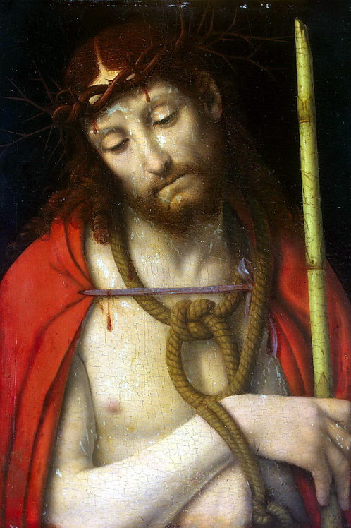 Христос в терновом венце, 30х40 см.
