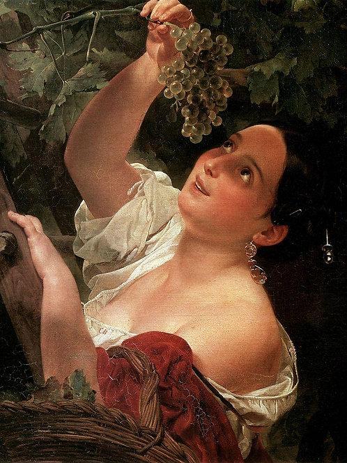Итальянский полдень. 1827, 30х40 см.