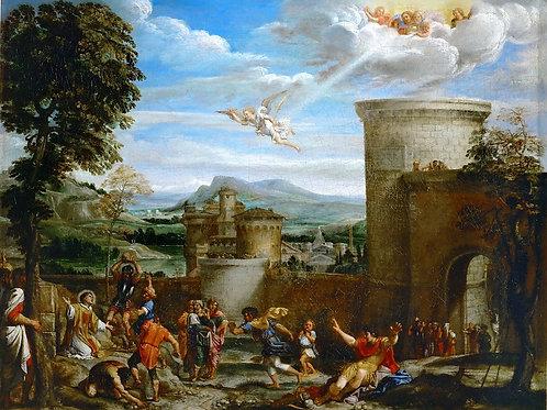 Карраччи, Аннибале и мастерская (1560 Бо,30х40 см.