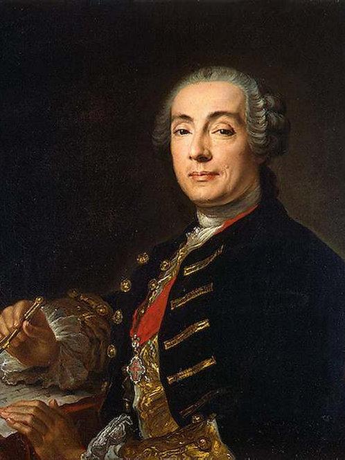 Портрет архитектора Бартоломео Франческо 30х40 см.