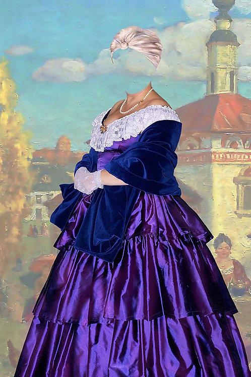 Художествееная обработка в костюм, № 835