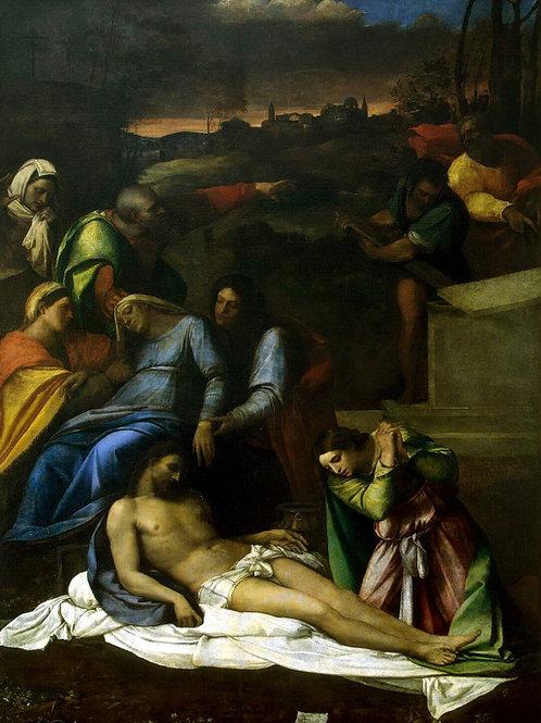 Лучиани, Себастьяно - Оплакивание Хрис,  30х40 см.