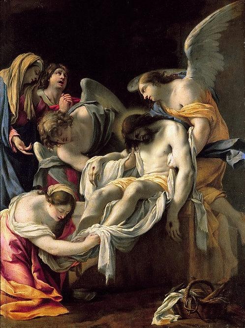 Вуэ, Симон (Париж 1590-1649) -- Погребен,30х40 см.