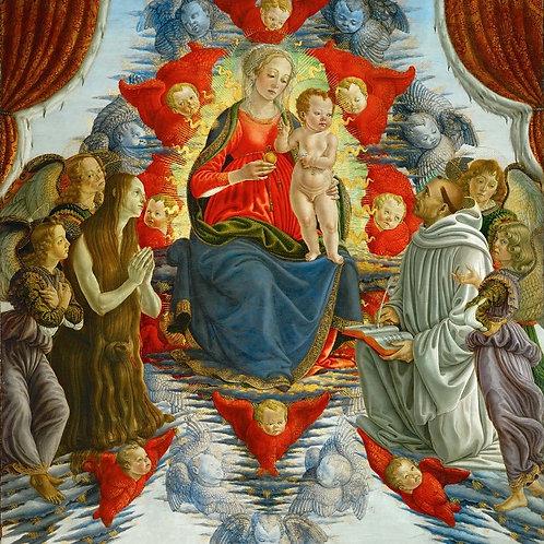 Боттичелли, Сандро (Флоренция 1445-1510),30х40 см.