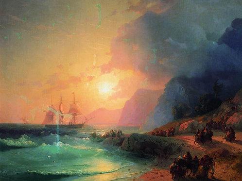 На острове Крит. 1867, 30х40 см.