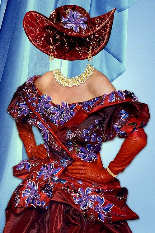 Художествееная обработка в костюм, № 542