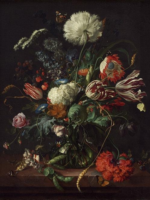 Хем, Ян Давидс де - Ваза с цветами, 30Х40см.