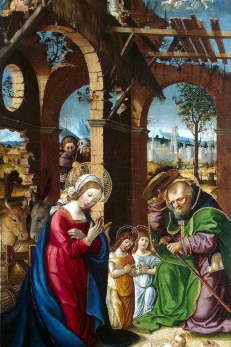 Гандольфино, Рождество Христа, 30х40 см.