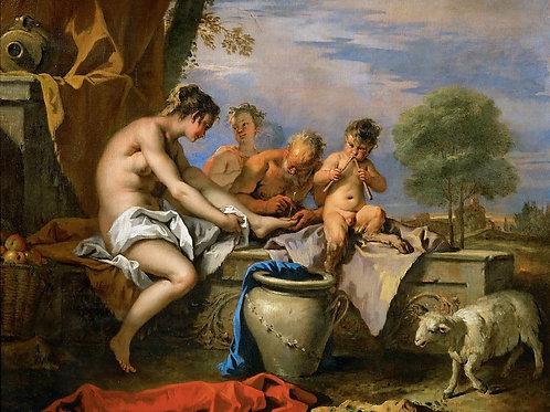 Риччи, Себастьяно (1659 Беллуно - 1734 В,30х40 см.