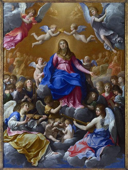 Гвидо Рени - Коронование Девы Марии, 30х40 см.