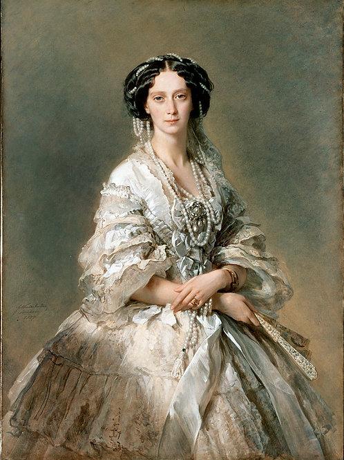 Винтерхальтер Франсуа Ксавье - Портрет 30х40 см.