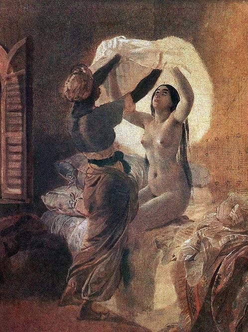 Одалиска. 1823-1835, 30х40 см.