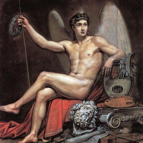 Гений искусства. 1817-1820, 30х40 см.