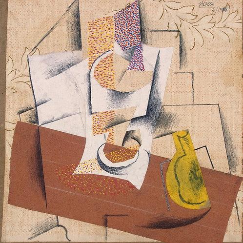 Пикассо, Пабло - Композиция с разрезанн, 30х40 см.