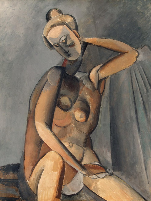 Пикассо, Пабло - Нагая женщина, 30х40 см.