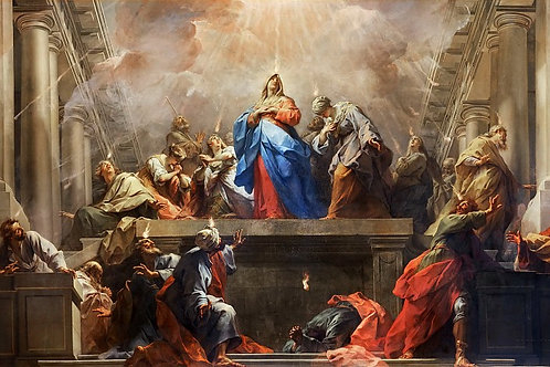 Ресту, Сошествие Святого Духа на апостол 30х40 см.