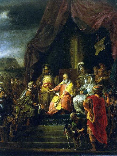 Бол, Моисей и Иофор , 30х40 см.