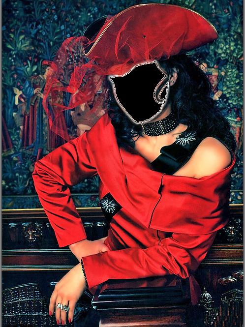 Художественная обработка в костюм, № 878