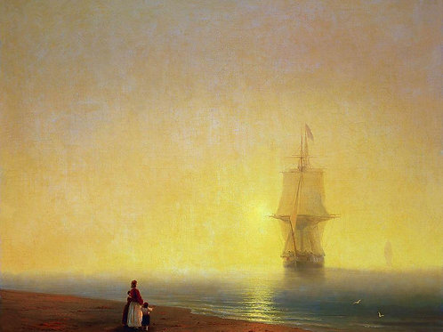 Утро на море. 1849