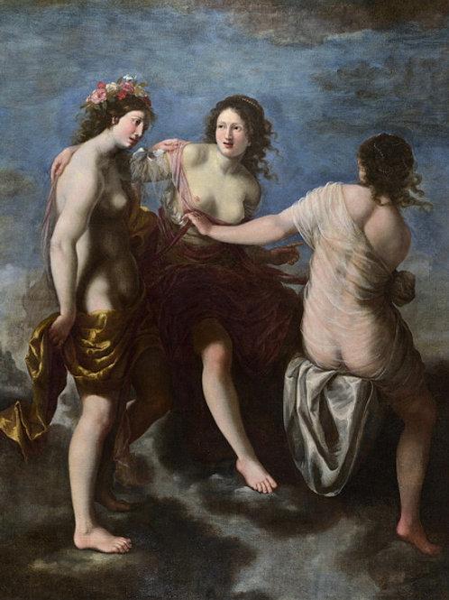 Франческо Фурини (мастерская) - Три Гра, 30х40 см.