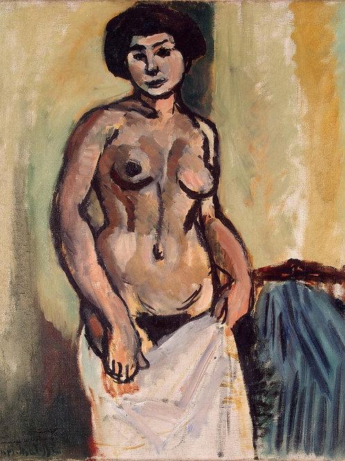 Матисс, Анри - Обнаженная женщина,  30х40 см.
