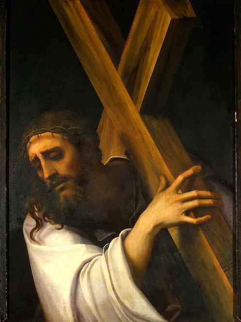 Лучиани, Себастьяно - Несение креста,  30х40 см.