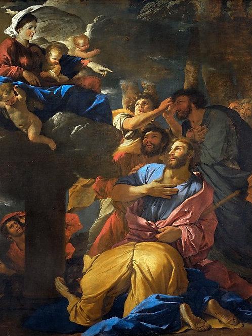 Пуссен, Никола (1594 лез-Андели - 1665 Р,30х40 см.