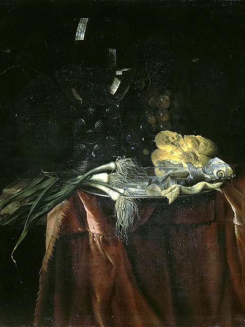 Алст, Виллем ван  Закуска, 30х40 см.