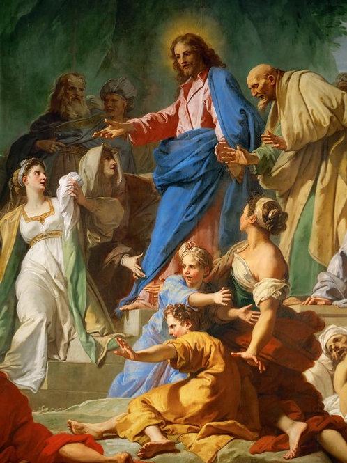 Жувене, Жан-Батист (1644 Руан - 1717 Па ,30х40 см.