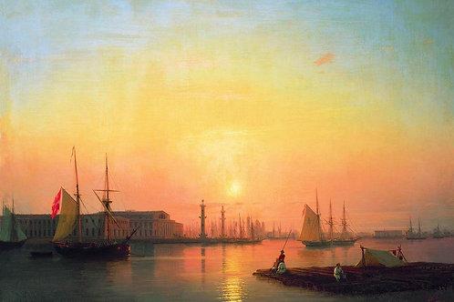 Петербургская биржа. 1847