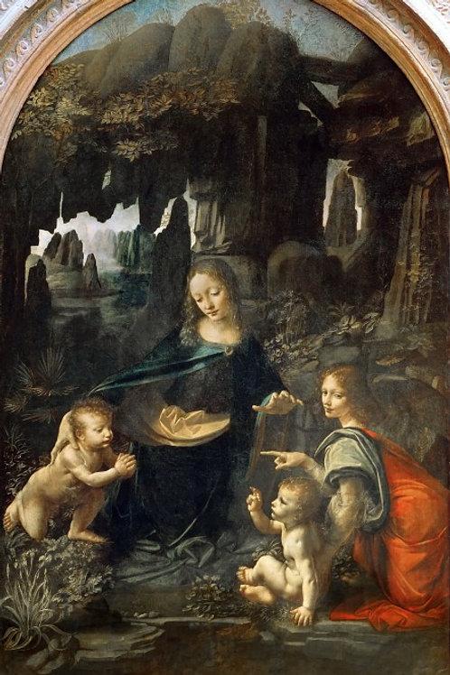 Леонардо да Винчи (1452 Винчи - 1, 1747,,30х40 см.