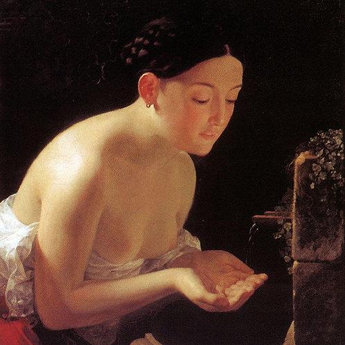 Итальянское утро. 1823, 30х40 см.