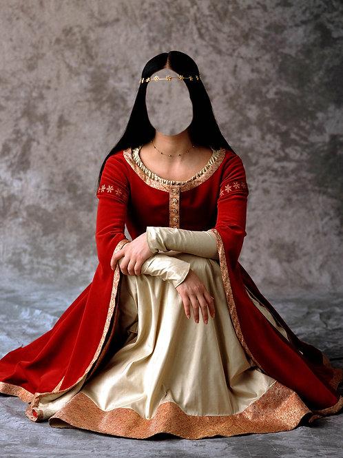 Художествееная обработка в костюм, № 576