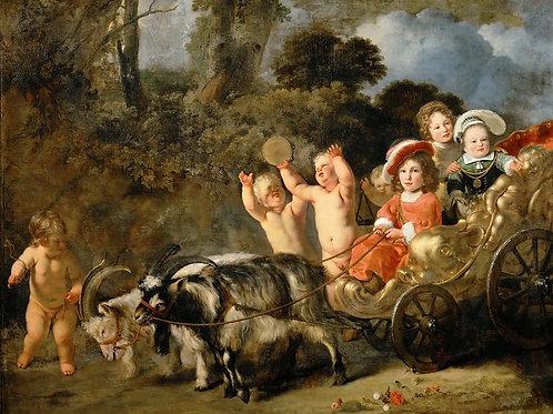 Боль, Фердинанд (1616 Дордрехт - 1680 Ам,30х40 см.