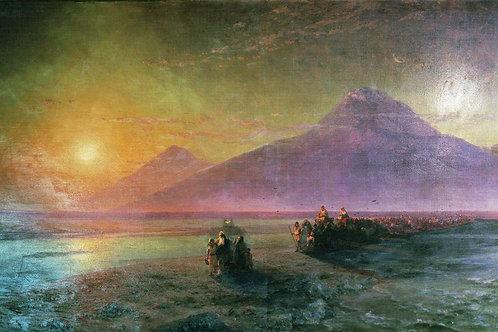 Сошествие Ноя с горы Арарат. 1870-е