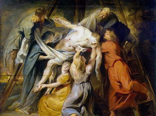 Рубенс, Питер Пауль - Снятие с креста (, 30х40 см.