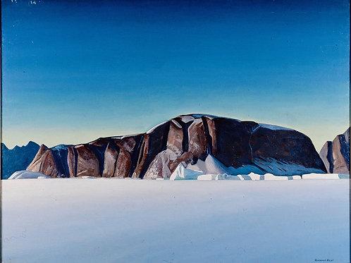 Кент, Рокуэлл - Побережье Гренландии, 30х40 см.