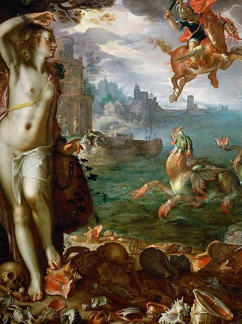 Втевал, Иоахим Антонис (Утрехт 1566-1638,30х40 см.