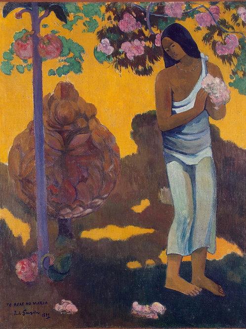 Гоген, Месяц Марии, 30х40 см.